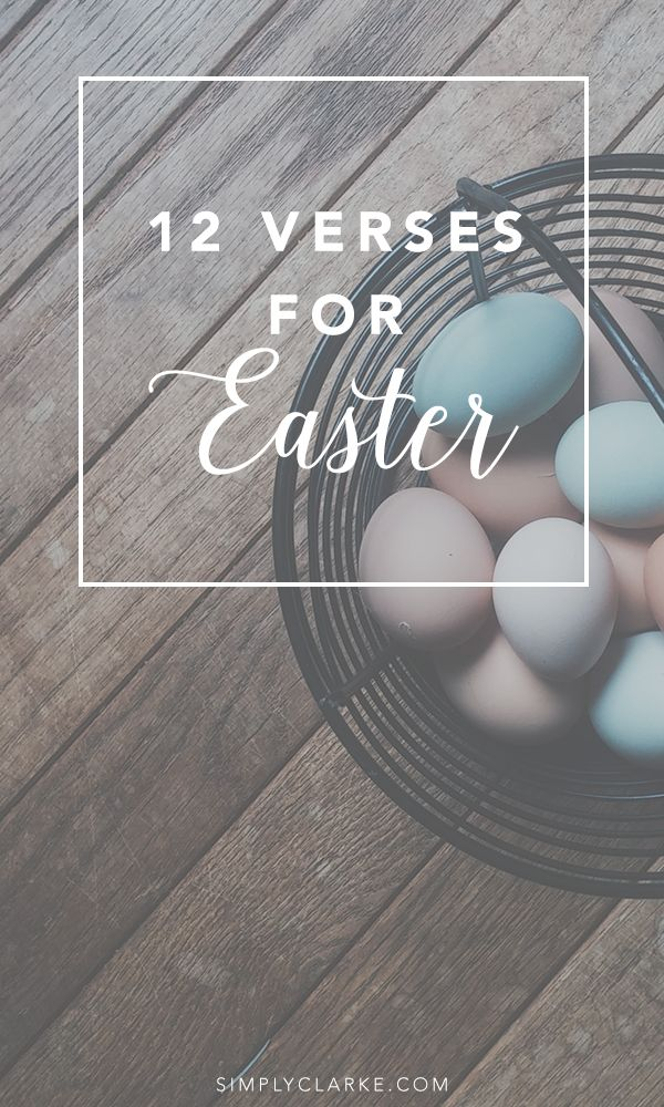 12 Verses for Easter