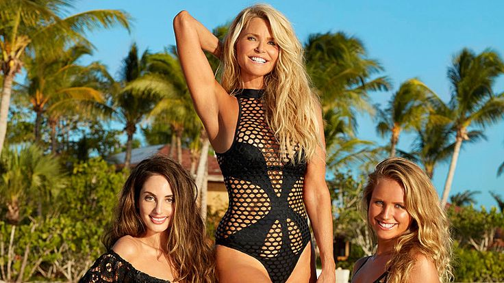 Christie Brinkley just made the 'Sports Illustrated Swimsuit Issue' again at 63