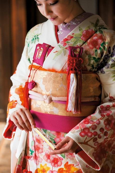 Beautiful Kimono fabric.
