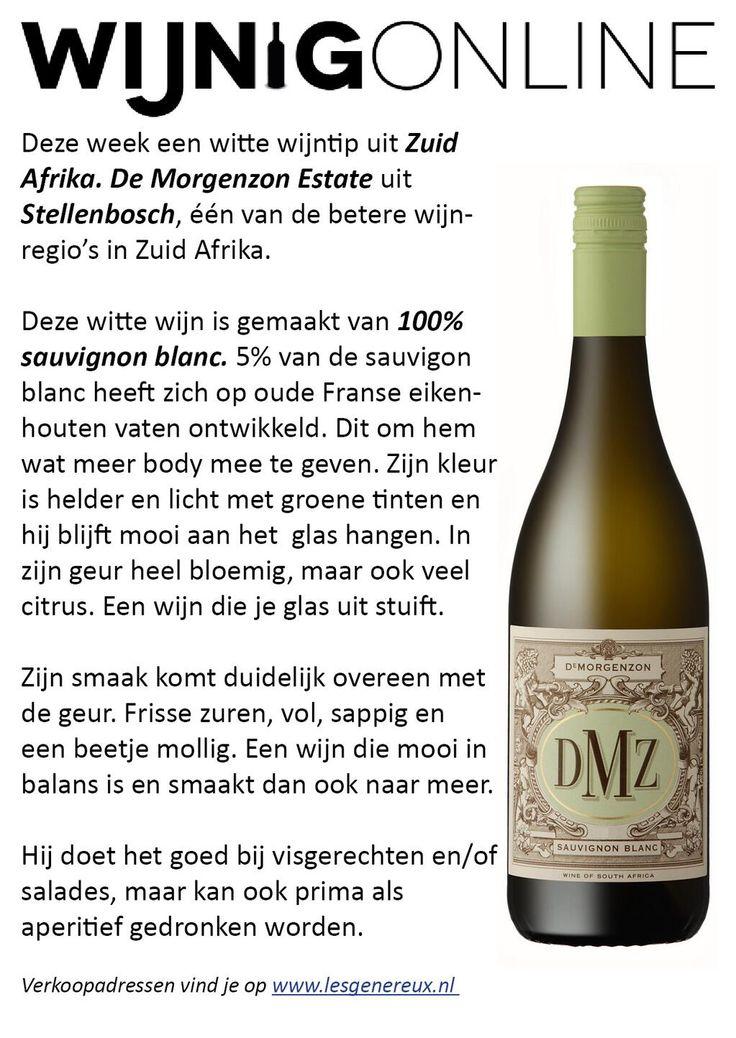 #winewednesday #WineOclock #wijntip van @DMZwine Een heerlijke sappige Zuid Afrikaanse sauvigon blanc #Stellenbosch pic.twitter.com/MIVuxGqsGH