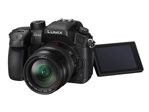 Panasonic Lumix DMC-GH4 with 12-35mm f/2.8 zoom lens – currently the best starter combination for HD and UltraHD video production. Add lenses and other accessories as needed.