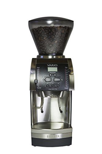 Baratza Vario 886 - Flat Ceramic Burr Coffee Grinder (with Portaholder and Bin) - http://teacoffeestore.com/baratza-vario-886-flat-ceramic-burr-coffee-grinder-with-portaholder-and-bin/
