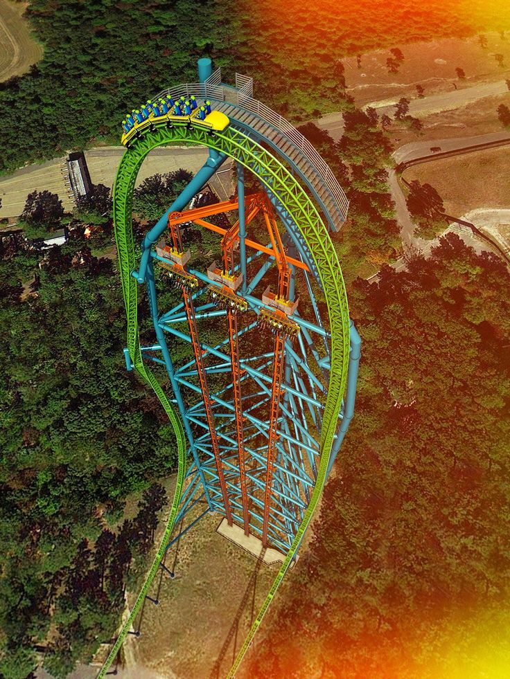 Kingda Ka, Six Flags Great Adventure, Jackson, New Jersey, USA
