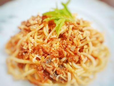 Resep Masak Spaghetti Saus Tuna Pedas