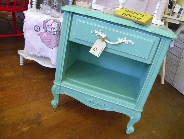 Would love to paint girls furniture like this
