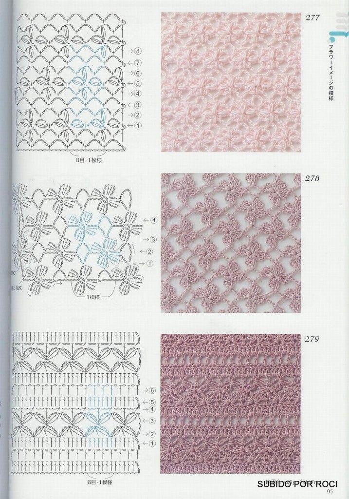 Рисунки вязания крючком картинки