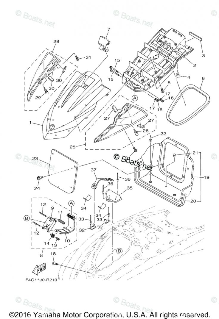 Yamaha Waverunner Engine Diagram Yamaha Waverunner Engine