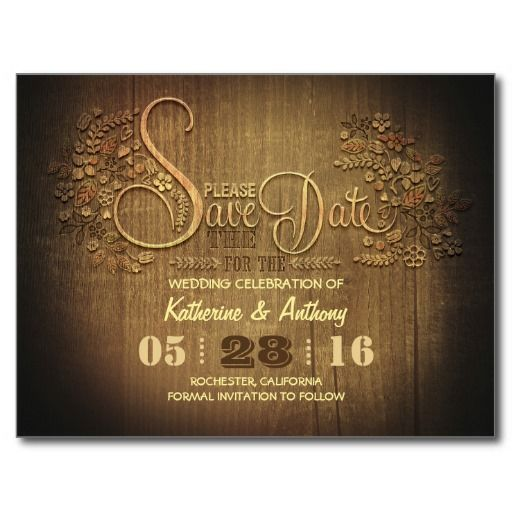 electronic save the dates rustic yahoo image search results