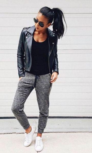 Look: Jaqueta + Comfy Pants                                                                                                                                                      Mais