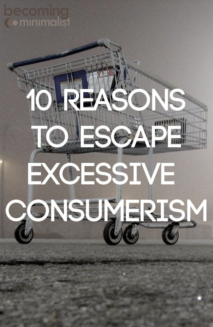 Escaping excessive consumption is not an easy battle. If it were, it would be done more often. But it is a battle worth fighting because it robs us of life far more than we realize. True life must be found somewhere else.
