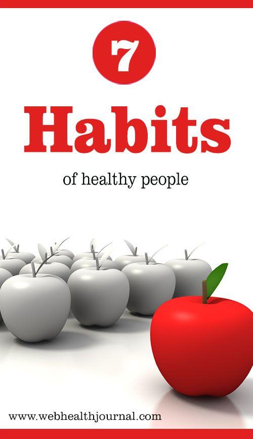Seven Habits Of Healthy People