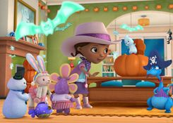 DoctoraJuguetesJuegos.com - Juego: Rompecabezas Noche de Halloween - Juegos de Puzzles de Doctora Juguetes Disney Jugar Gratis Online