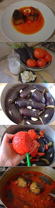 Баклажаны в томатном соусе по-армянски (холодное блюдо!) : Вегетарианская и постная кухня