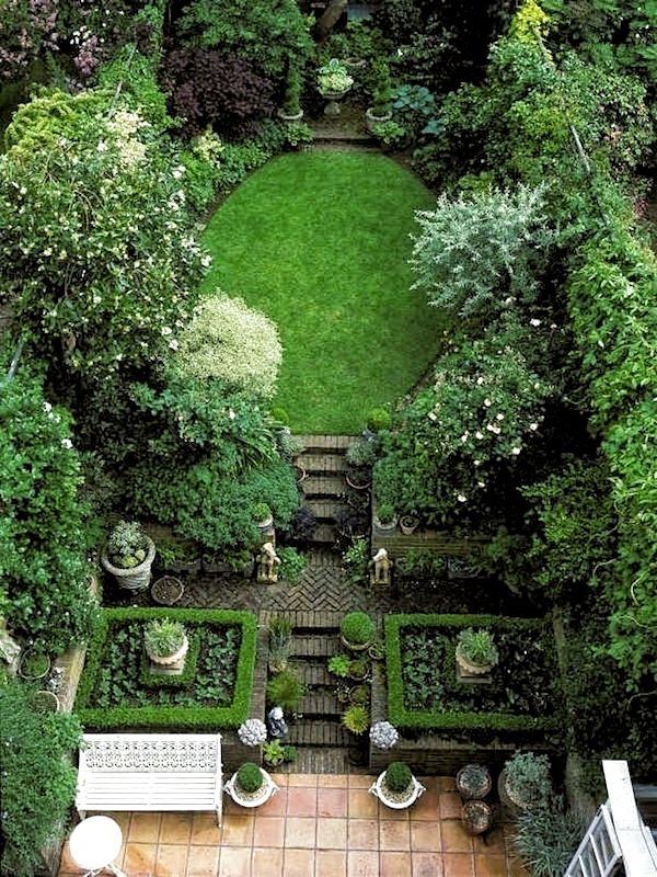 25 Jardins urbains urbains sérieusement délabrés in 2020   English garden design, Urban garden ...