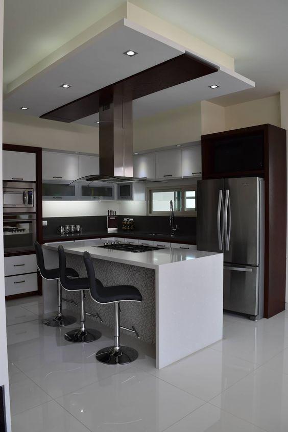 cocinas modernas, Ideas de decoración de cocinas modernas, cocinas ...