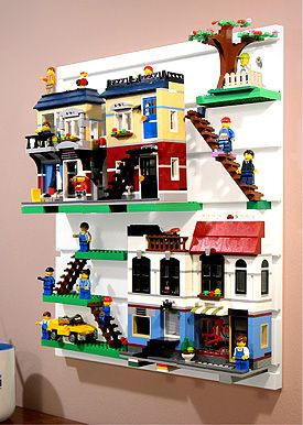 BRICK RACK | Display and Organize your LEGO minifigures and Creations