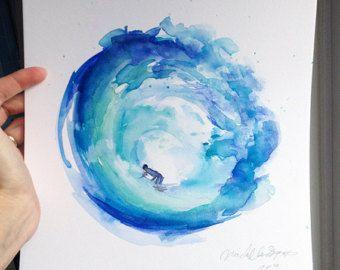 Bloesem Boom schilderij origineel werk boom kunst door Zendrawing