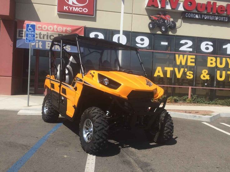 Used 2013 Kawasaki TERYX4 750 EPS LE ATVs For Sale in California. 2013 KAWASAKI TERYX V-TWIN 750 LIMITED EDITION EPS 4X4 HARD TOP WIND SHIELD LIKE NEW 28 ORIGINAL HOURS ALL STOCK. 0 DOWN $259 MO OR 0 INTEREST FOR 6-12-18 MONTHS AVAILABLE. WE ALSO SELL PRE-OWNED HONDA YAMAHA SUZUKI KAWASAKI BOMBARDIER POLARIS CAN AM KYMCO ARCTIC CAT SIDE BY SIDES UTV'S ATV'S