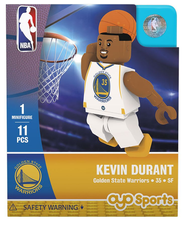 Golden State Warriors KEVIN DURANT Home Uniform Limited Edition OYO Minifigure