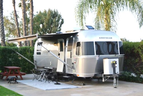 Airstream Rentals - they will deliver the airstream to your campsite