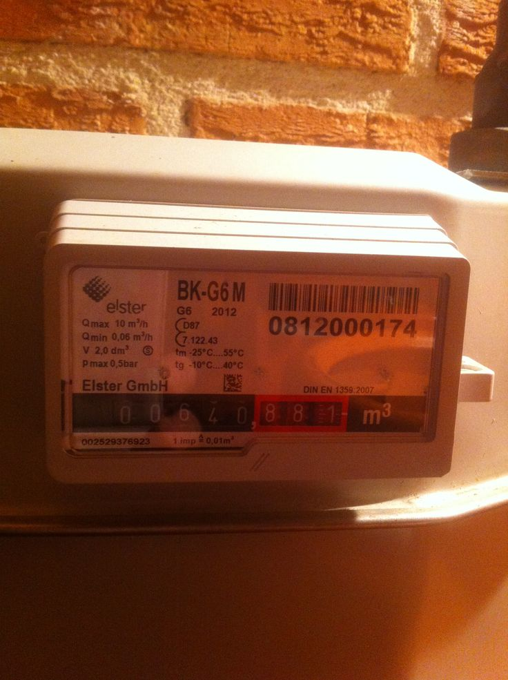 Instalacion de un contador de gas propano. Nos permite controlar al proveedor de gas y el consumo.