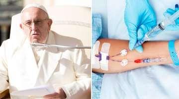 """La eutanasia siempre es ilícita porque procura la muerte, afirma el Papa Francisco 16/11/2017 - 09:54 am .- El Papa Francisco recordó la postura de la Iglesia en relación a la eutanasia al asegurar que """"es siempre ilícita porque propone interrumpir la vida procurando la muerte""""."""