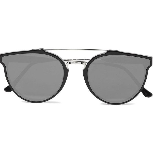 black and silver aviators  17 Best ideas about Mirrored Aviator Sunglasses on Pinterest ...