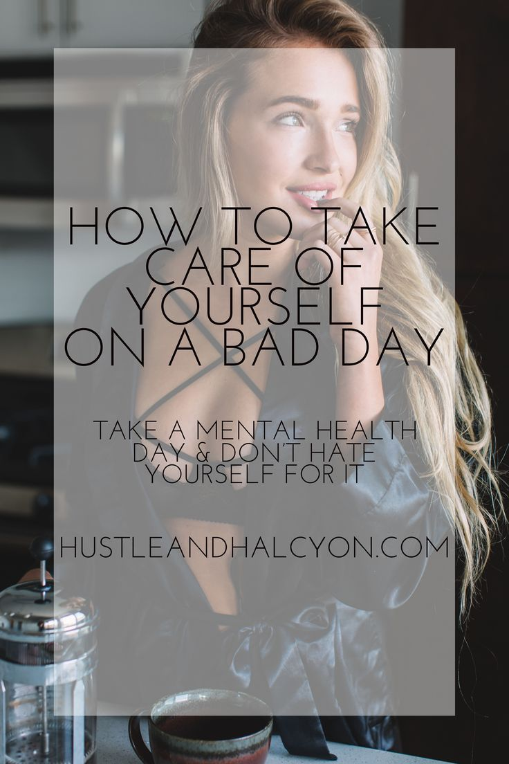 Learning to take care of yourself is SO important, especially when you're having the day from hell. Here are a few of my favorite mental health day things.