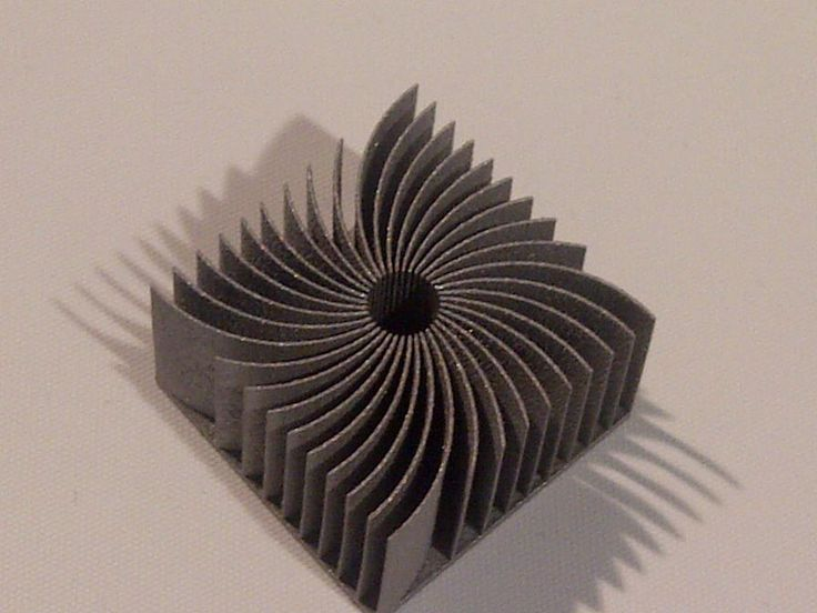 3D printed metal design on 3RD booth at Rapid 2015