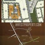 Peta lokasi dan master plan rumah Nusa Loka Park BSD