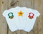 Gameboy-ish Baby Clothes