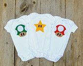 Nintendo Gameboy Baby Clothes by TheWishingElephant on Etsy
