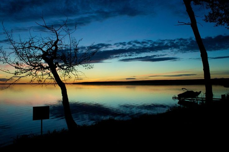 A photo taken from Shaw's Point Resort at Slave Lake, Alberta.