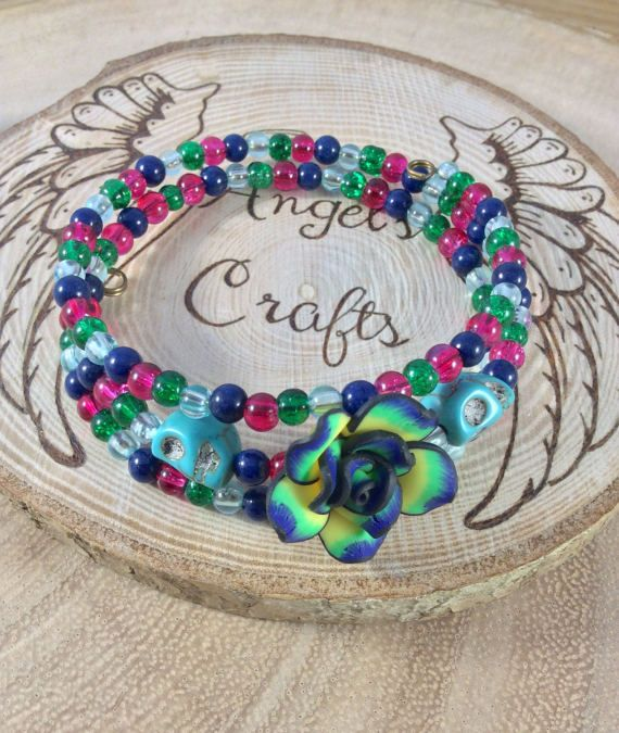 Hey, I found this really awesome Etsy listing at https://www.etsy.com/listing/501905082/ladies-bracelet-polymer-clay-bracelet