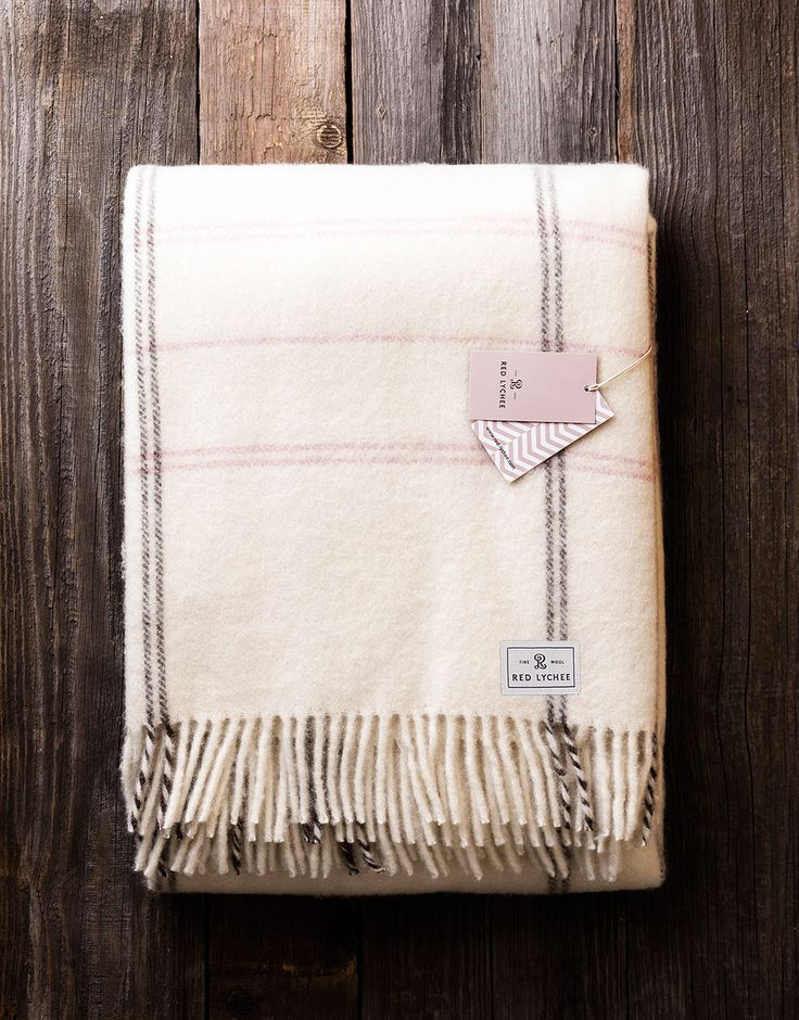 Lamama Wool Blanket. It's an originally gift idea for any occasion or accessory for your own home or office.