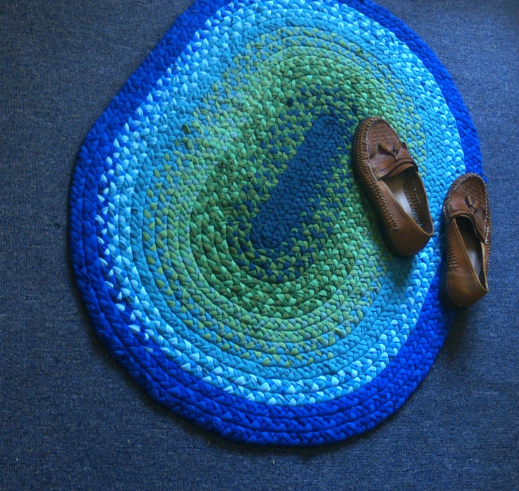 28 Best My Handmade Rag Rugs Images On Pinterest
