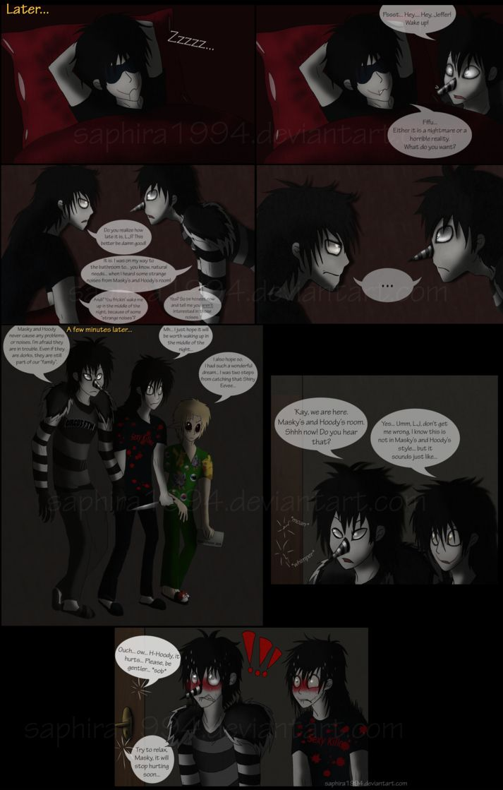 Adventures With Jeff The Killer Page 15 By