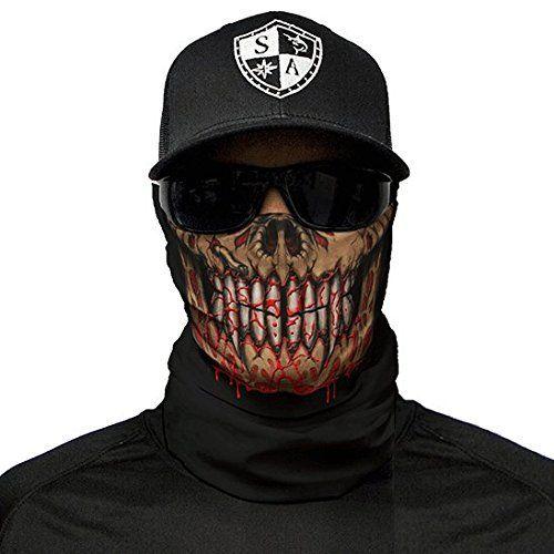 SA Company Face Shield Cagoule * * Designs Différents * * Multi unkti Ons écharpe Masque Fishing Tête de Mort Skull Bandana Bandana Masque…