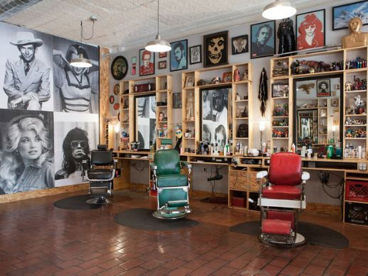 Best 25 barbershop ideas ideas on pinterest barbers - Interior design school nashville ...