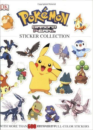 Amazonsmile pokemon diamond pearl sticker collection pokemon dk