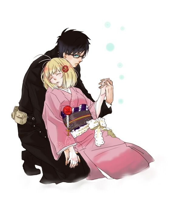 ao no exorcist yukio and shiemi - Google Search