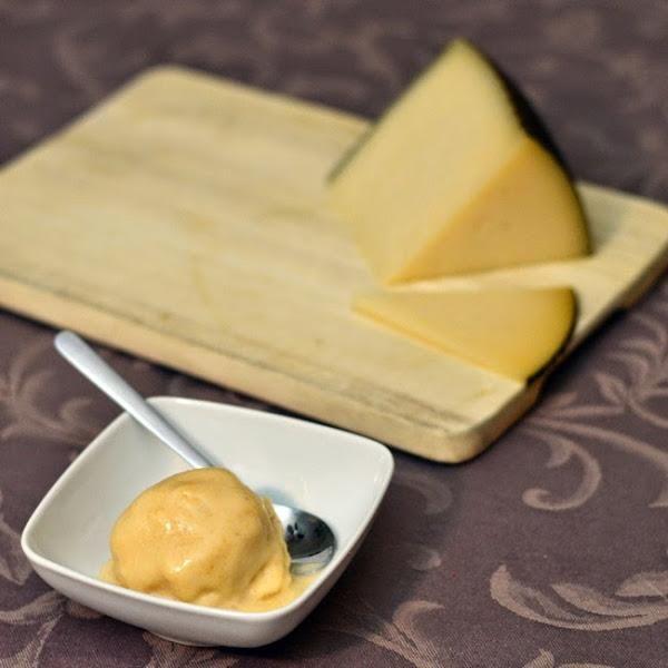 Helado de queso manchego con membrillo, ¡sorprende a tus invitados!