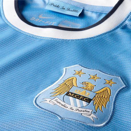 2013/14 Manchester City FC shirt champions jersey