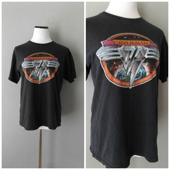 Van Halen 80s Band Tshirt Vintage Rock Band By