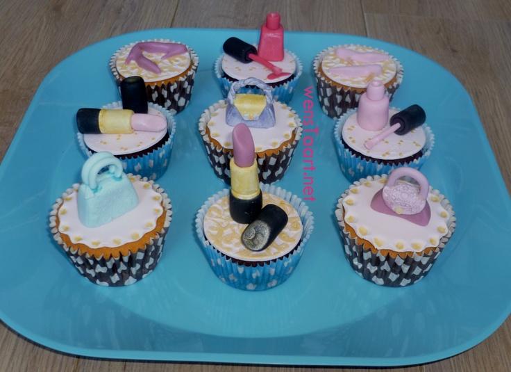 Tiener Cupcakes voor Nienke