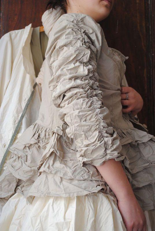 MLLE LOLA : Veste en popeline de coton