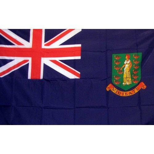 British Virgin Islands Traditional Flag
