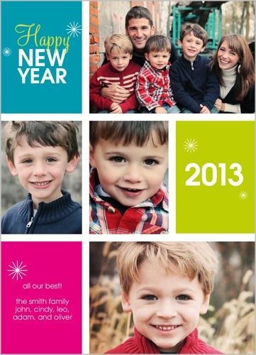 HAPPY 2013 New Year's Card
