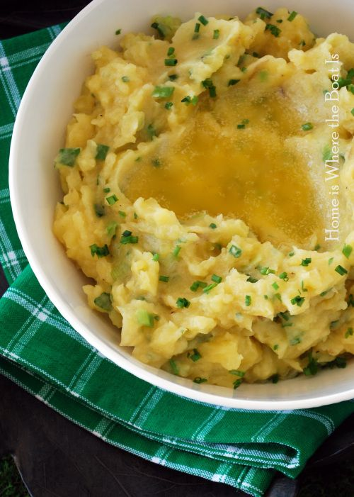 mashed potatoes irish potatoes recipe meat n potatoes champ potatoes ...