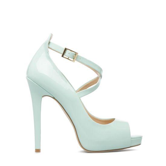 Sophisticated Cool Mint Green Heels
